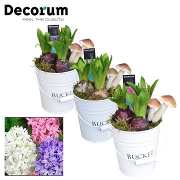 Hyacint White Bucket Maxi HL18541 [PURE]