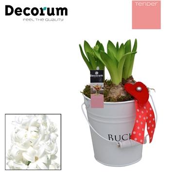 Hyacint White Bucket Maxi HL18544WP [TENDER]