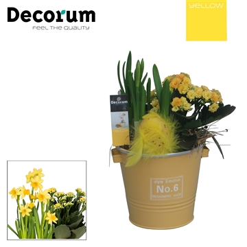Colourful Bucket HL26580 [YELLOW]