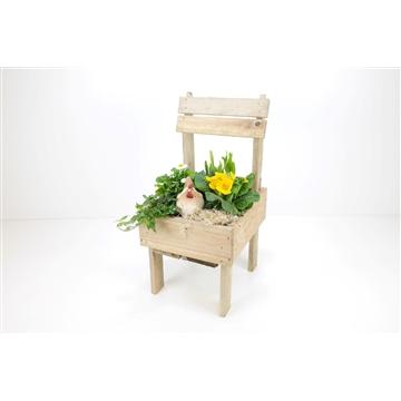 Pallethout stoel XL