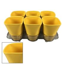 Suzanne  ceramic pot Yellow