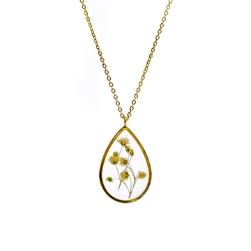 Gypsophila Golden – Necklace