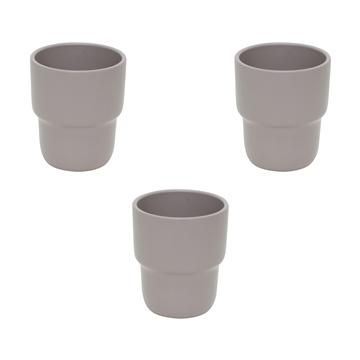 Ceramic Elvira grey - 9cm