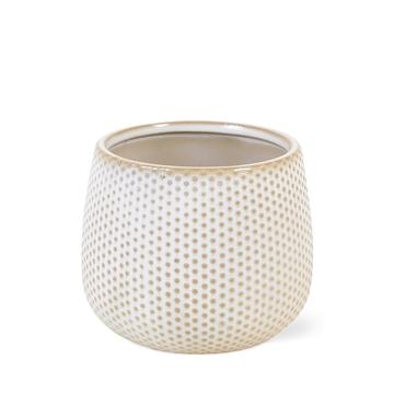 Ceramic Rhonda dot - 9cm
