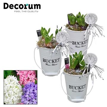Hyacint White Bucket Maxi HL18542NY [NEW YEAR]