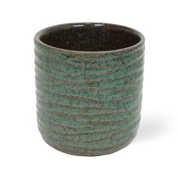 Ceramic Becca Green - 12cm
