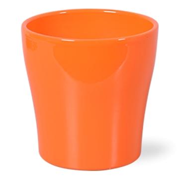 Keramiek Bombé Oranje