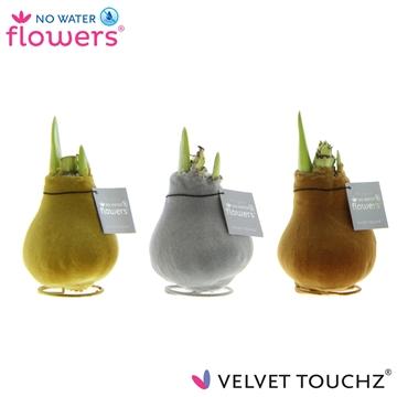 No Water Flowers Velvet Touchz® Metallic