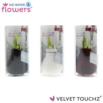 No Water Flowers Velvet Touchz® Classic mix in Koker