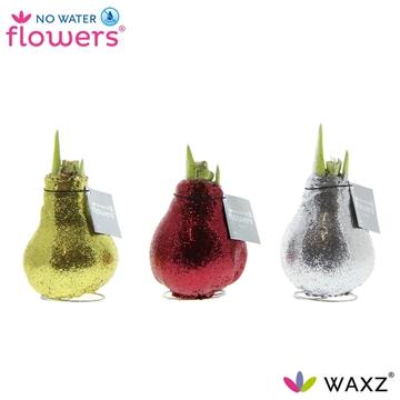 No Water Flowers Glitterz® Goud / Rood / Zilver