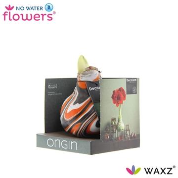 No Water Flowers Waxz®Artooz Fantasy Orange Boxz (Decorum)