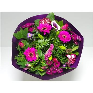Bouquet Biedermeier Large Lilac