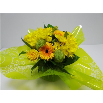 Bouquet Aqua Medium Yellow