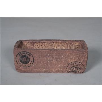 Keramische pot Wood keramiek (6,5 x 6x5 x 17x5)