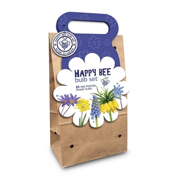 Happy Bee Bag Blue