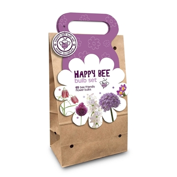 Happy Bee Bag Purple