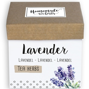 Homemade Herbs Tea Lavender