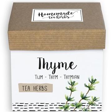 Homemade Herbs Tea Thyme