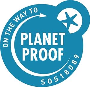 Planetproof certificering icon