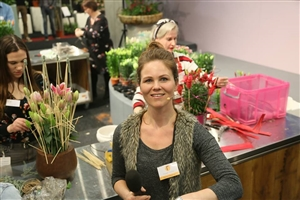 Seasonal Trade Fair 2018 : Florist meet Grower. Chantal Vollenbroek