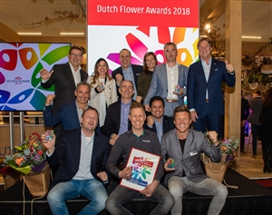 Winners Dutch Flower Awards 2018 foto